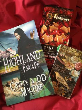 Highland Escape Scottish Historical Romance Walkers Shortbread Picture